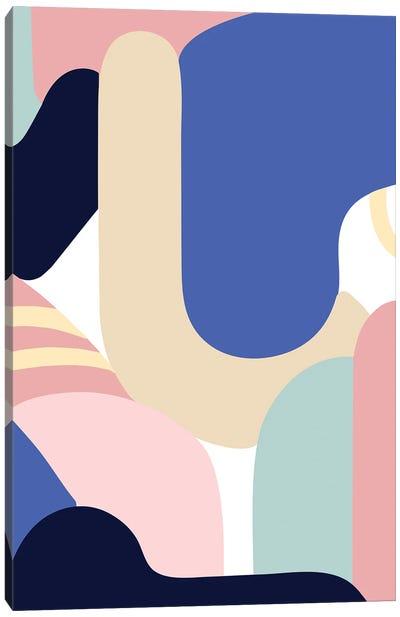 Blue Monday Canvas Art Print
