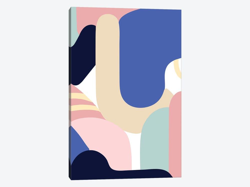 Blue Monday by Jilli Darling 1-piece Canvas Artwork