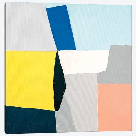 Fragments Canvas Print #JLD38} by Jilli Darling Art Print