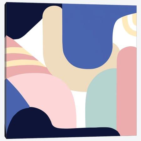Blue Monday II Canvas Print #JLD40} by Jilli Darling Canvas Art