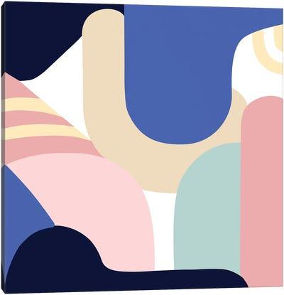 Blue Monday II Canvas Art Print