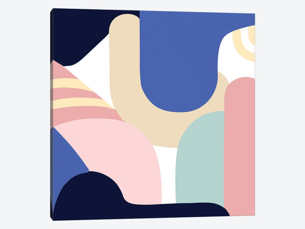 Blue Monday II by Jilli Darling 1-piece Art Print