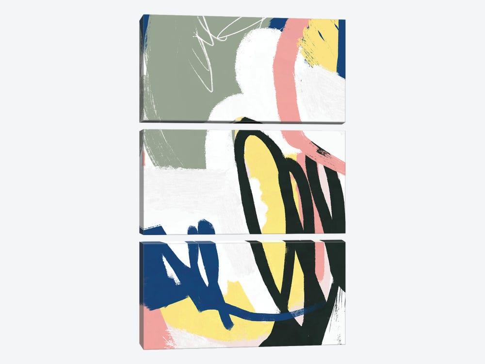 Unlikely by Jilli Darling 3-piece Canvas Art