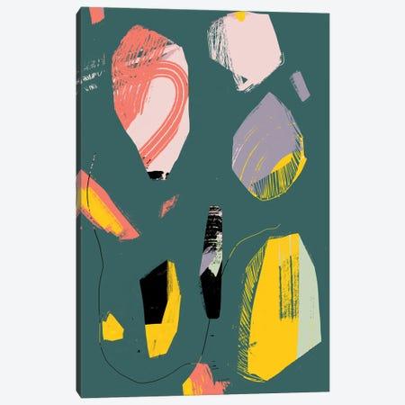 Jade Rock Canvas Print #JLD48} by Jilli Darling Canvas Artwork
