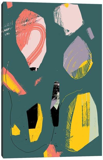 Jade Rock Canvas Art Print