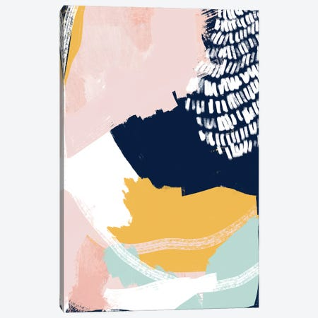 Pastel Cloth Canvas Print #JLD49} by Jilli Darling Canvas Wall Art