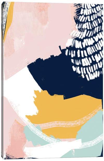 Pastel Cloth Canvas Art Print