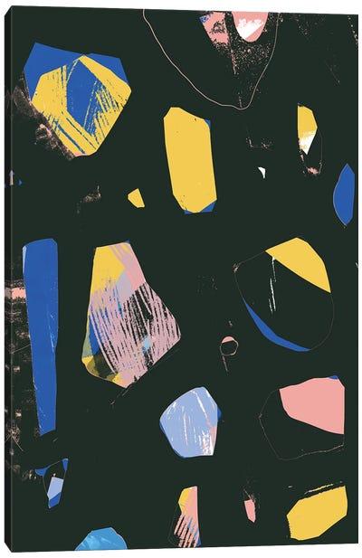 Rocks In Black Canvas Art Print