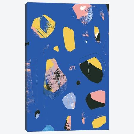 Rocks In Blue Canvas Print #JLD51} by Jilli Darling Canvas Print