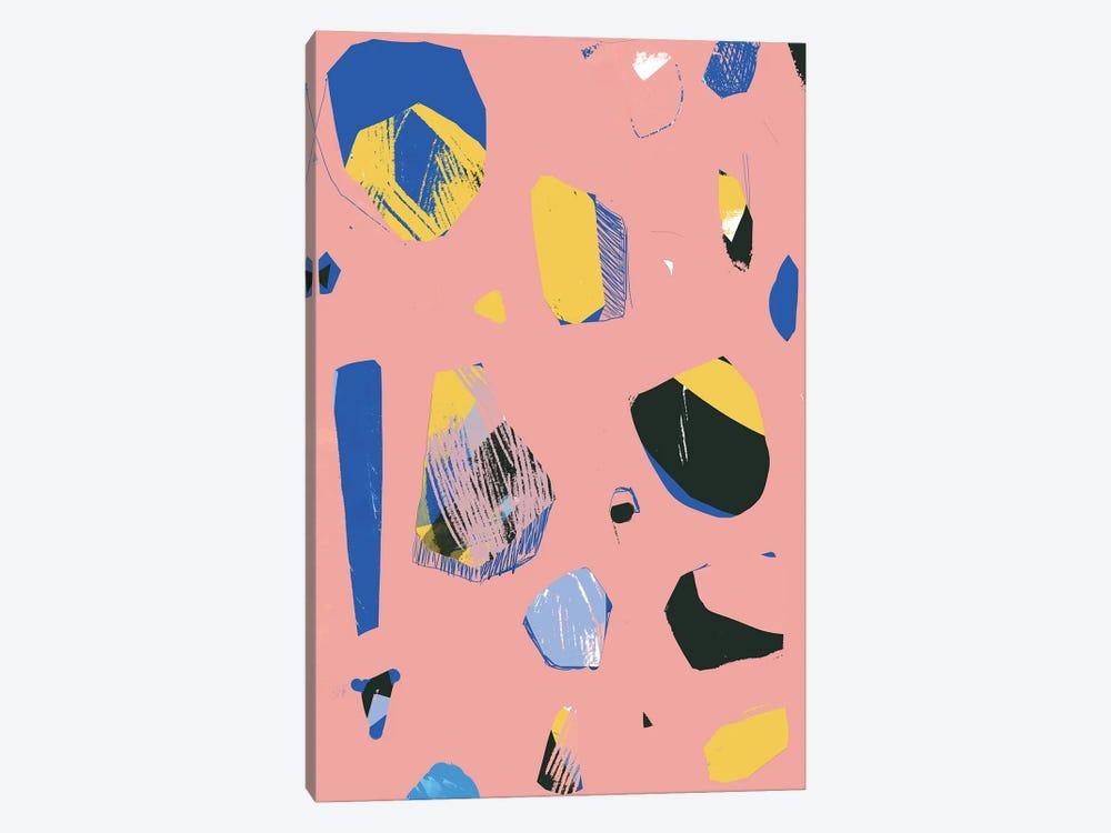 Rocks In Pink by Jilli Darling 1-piece Canvas Art