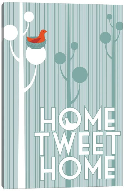 Home Tweet Home Canvas Art Print