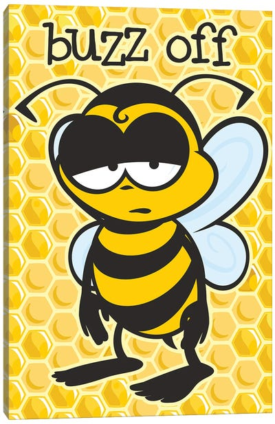 Buzz Off Canvas Art Print