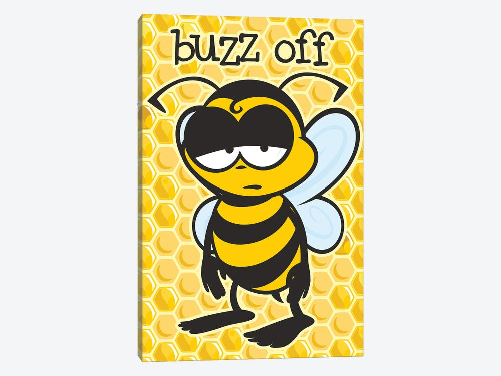 Buzz Off by James Lee 1-piece Canvas Wall Art
