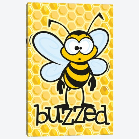 Buzzed Canvas Print #JLE108} by James Lee Canvas Art Print
