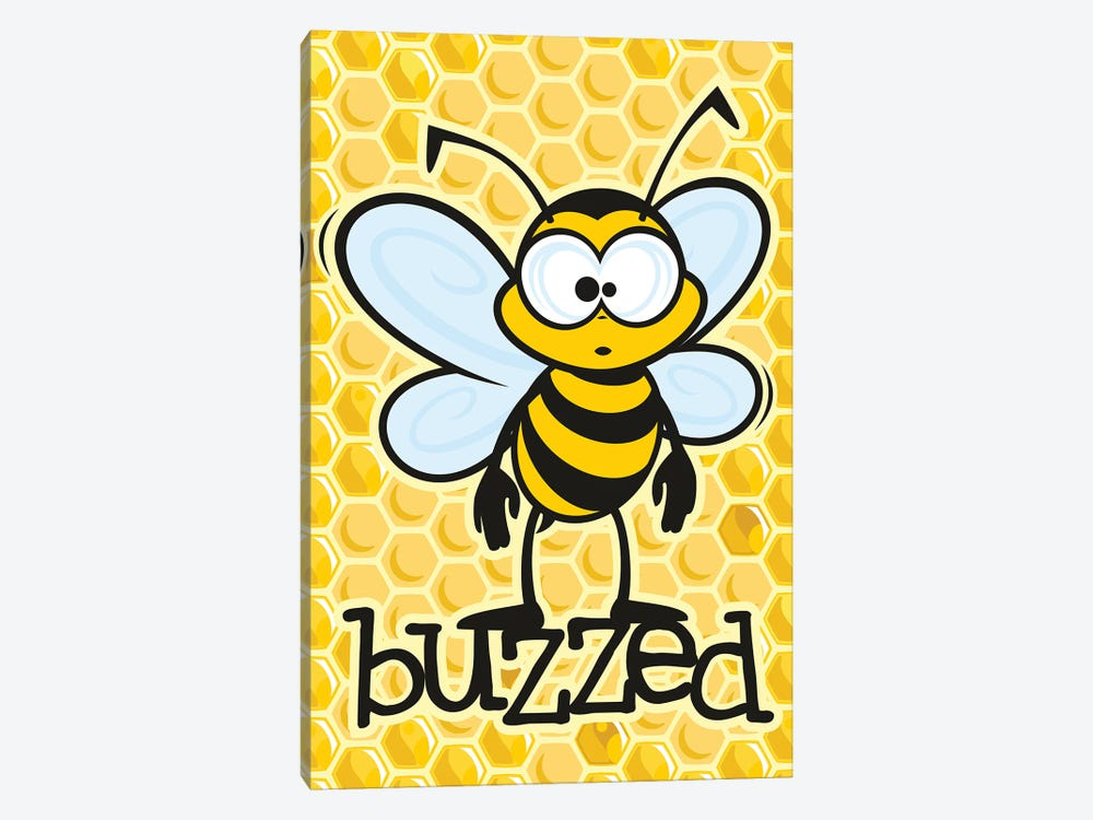 Buzzed by James Lee 1-piece Art Print