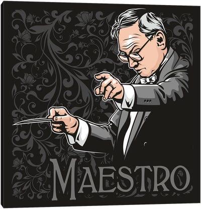 Maestro Ennio Morricone Canvas Art Print