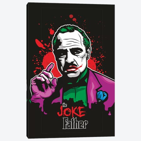 Jokefather Canvas Print #JLE114} by James Lee Canvas Art Print