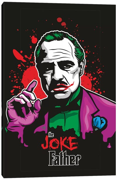 Jokefather Canvas Art Print
