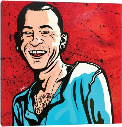 Chester Bennington Canvas Art Print