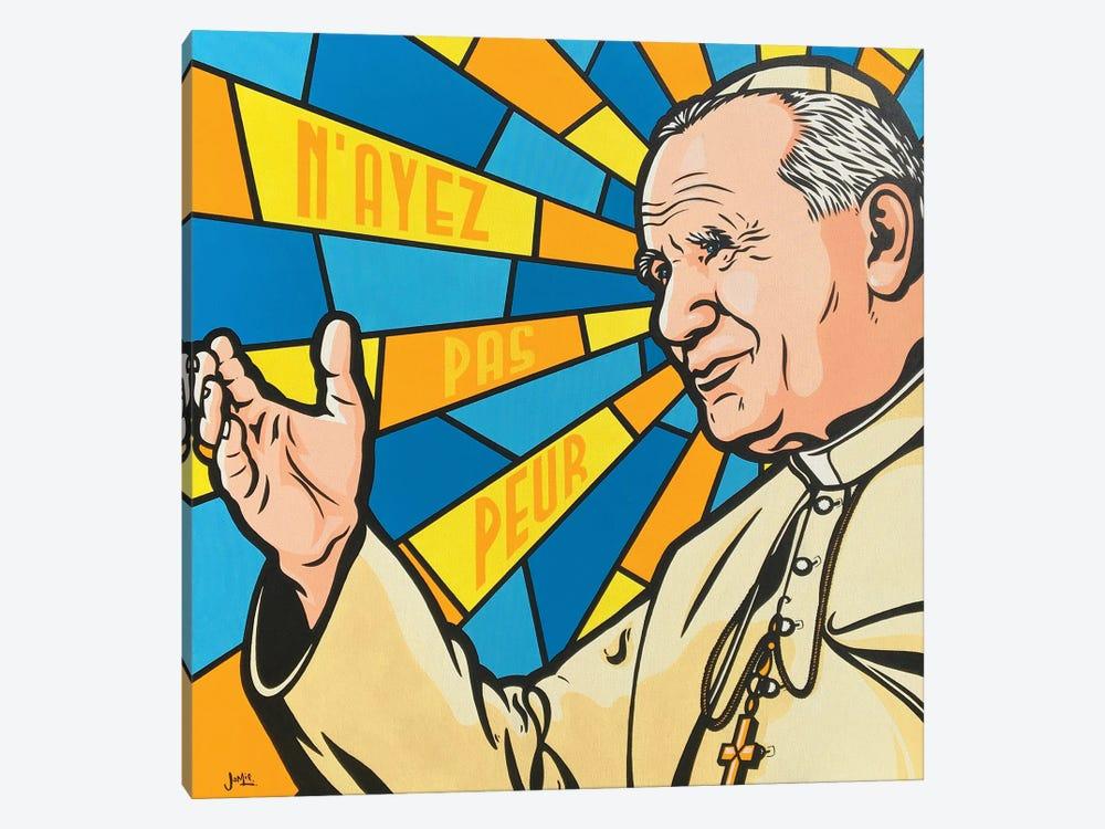 Pope John Paul II by James Lee 1-piece Canvas Art
