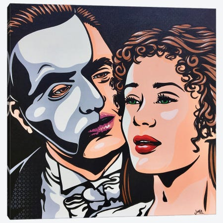 Phantom Of The Opera Canvas Print #JLE131} by James Lee Canvas Artwork