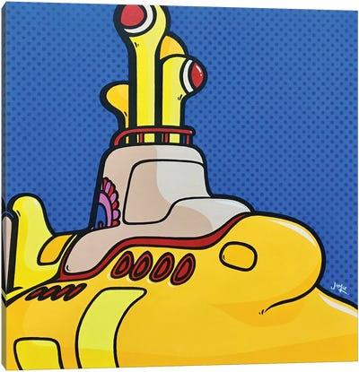 Yellow Submarine Canvas Art Print