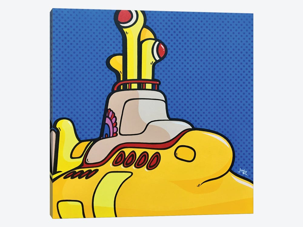 Yellow Submarine by James Lee 1-piece Canvas Art