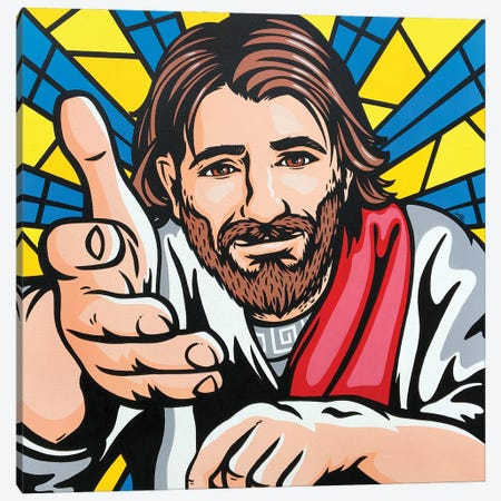 Jesus Said Come To Me Canvas Print #JLE133} by James Lee Canvas Wall Art