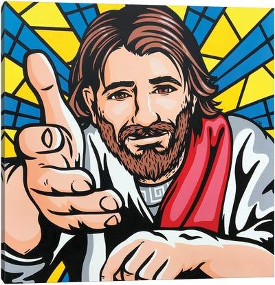 Jesus Said Come To Me Canvas Art Print