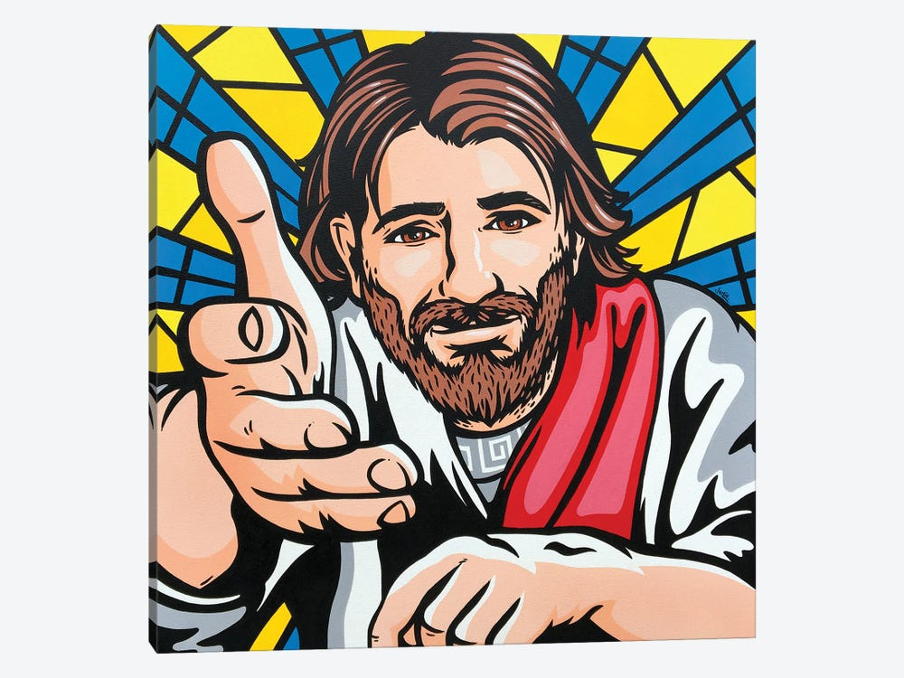 Jesus Said Come To Me by James Lee 1-piece Canvas Print