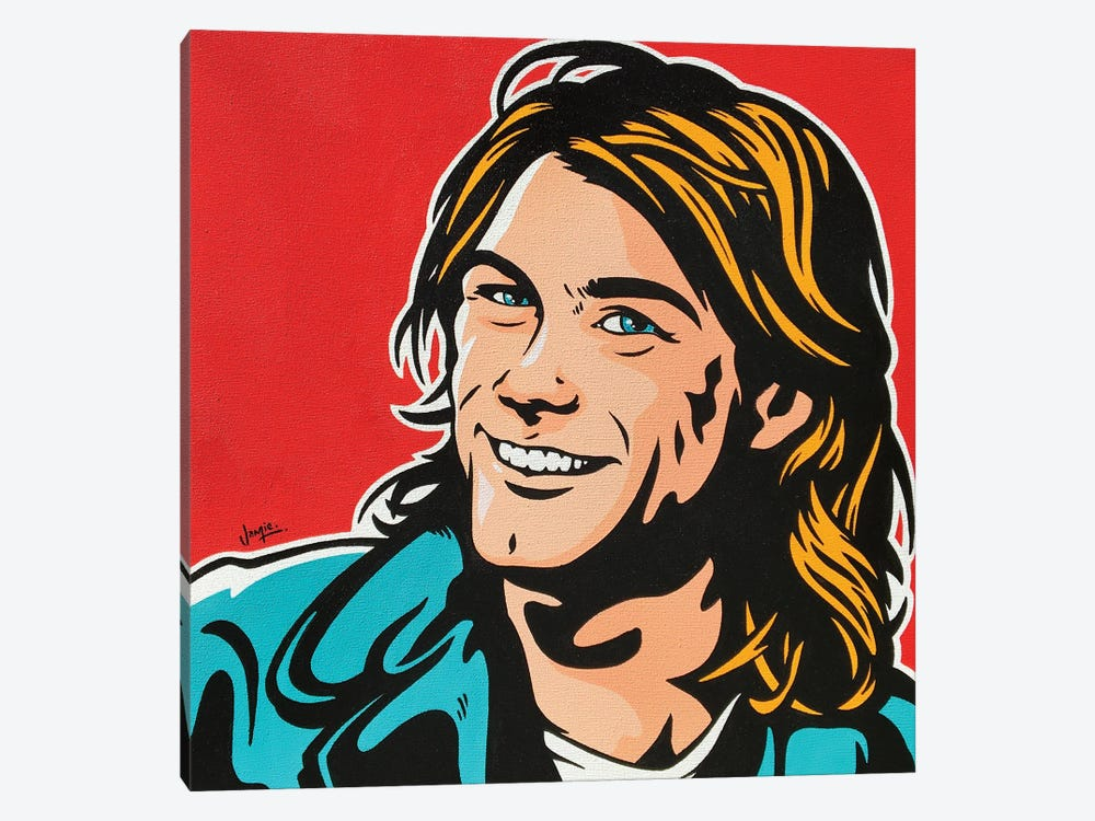 Kurt Cobain by James Lee 1-piece Canvas Art