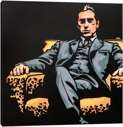 Michael Corleone Canvas Art Print