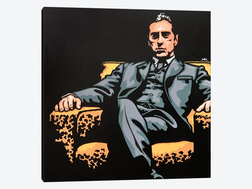 Michael Corleone by James Lee 1-piece Canvas Art Print