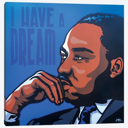 Mlk Canvas Print #JLE138} by James Lee Canvas Art