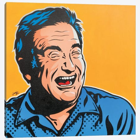 Robin Williams Canvas Print #JLE139} by James Lee Canvas Artwork