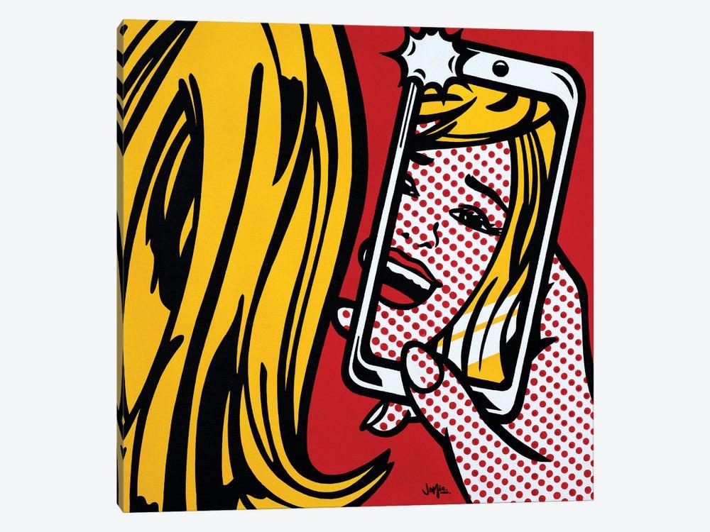 Girl In Selfie by James Lee 1-piece Canvas Artwork