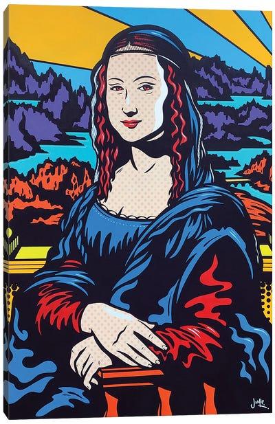 Mona Lisa Pop Canvas Art Print