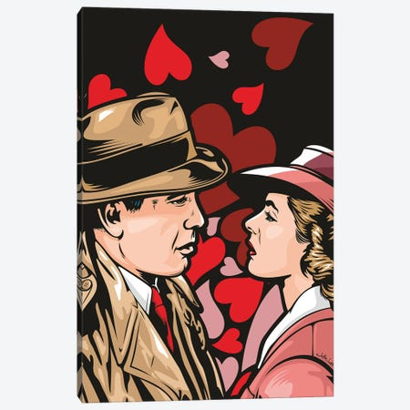 Casablanca Canvas Print #JLE146} by James Lee Canvas Wall Art