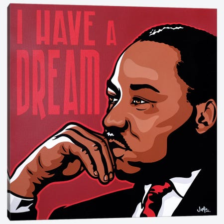 I Have A Dream Canvas Print #JLE17} by James Lee Canvas Print