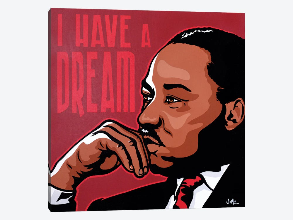 I Have A Dream by James Lee 1-piece Canvas Artwork