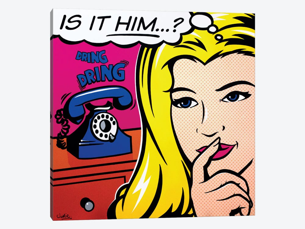 Is It Him by James Lee 1-piece Canvas Wall Art