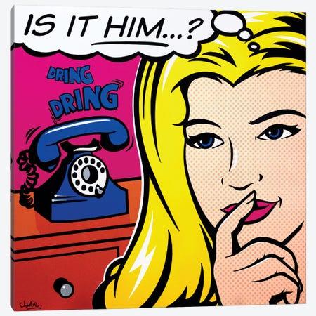 Is It Him Canvas Print #JLE19} by James Lee Canvas Art