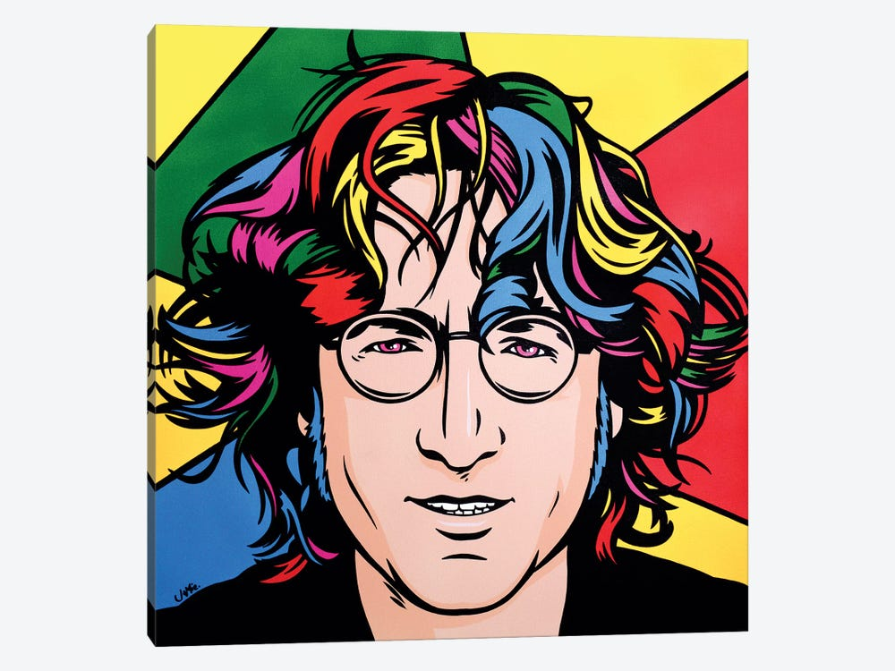 John Lennon by James Lee 1-piece Canvas Art
