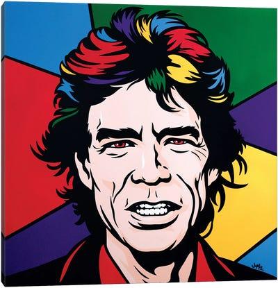 Mick Jagger Canvas Art Print