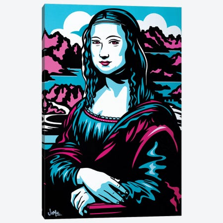 Mona Lisa Canvas Print #JLE24} by James Lee Canvas Artwork