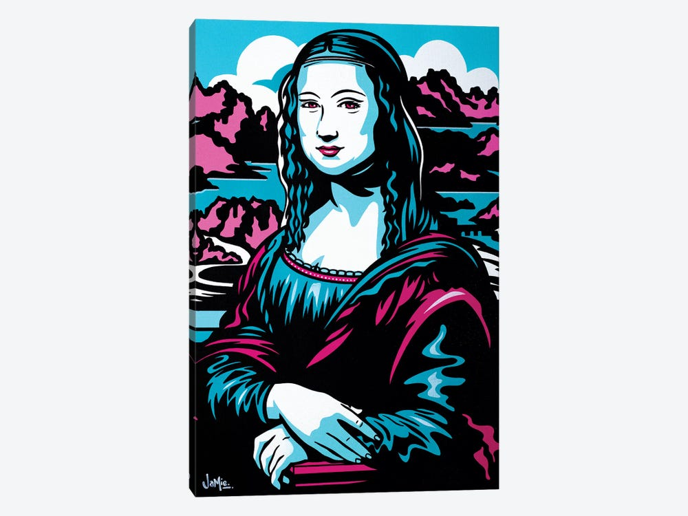Mona Lisa by James Lee 1-piece Canvas Art