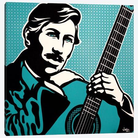 Agustín Barrios Mangoré Canvas Print #JLE2} by James Lee Canvas Art