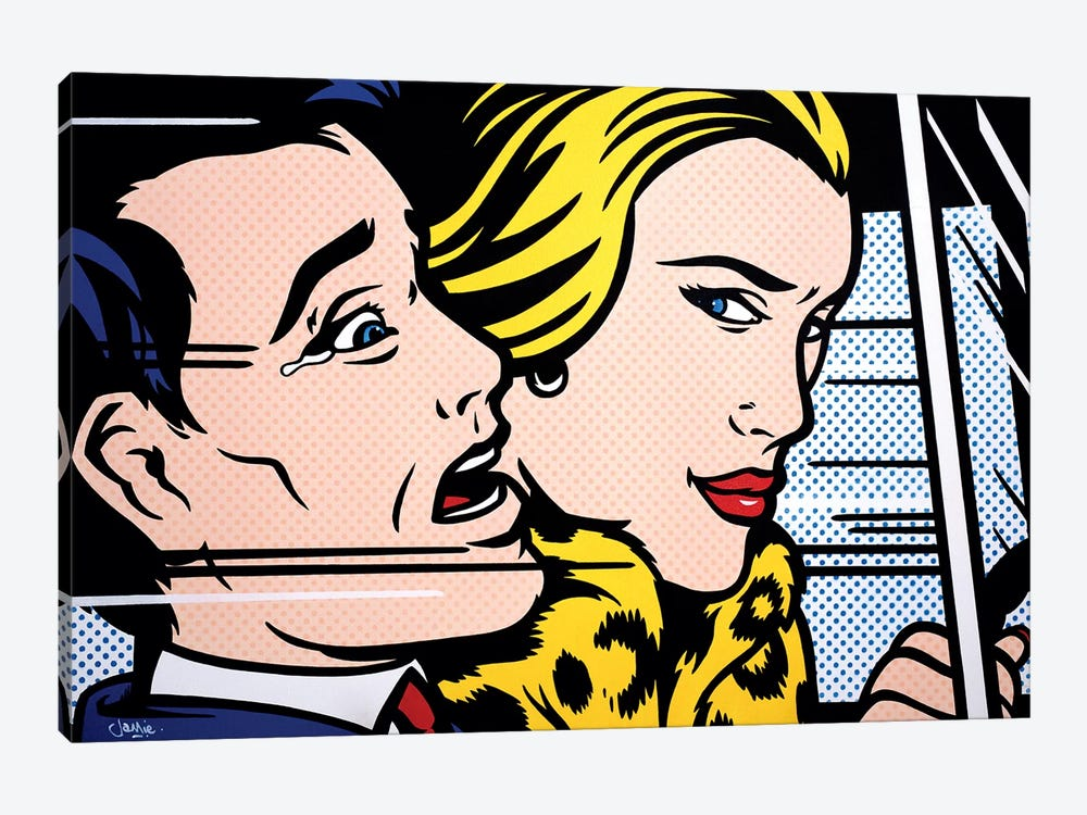Still In The Car I by James Lee 1-piece Canvas Artwork