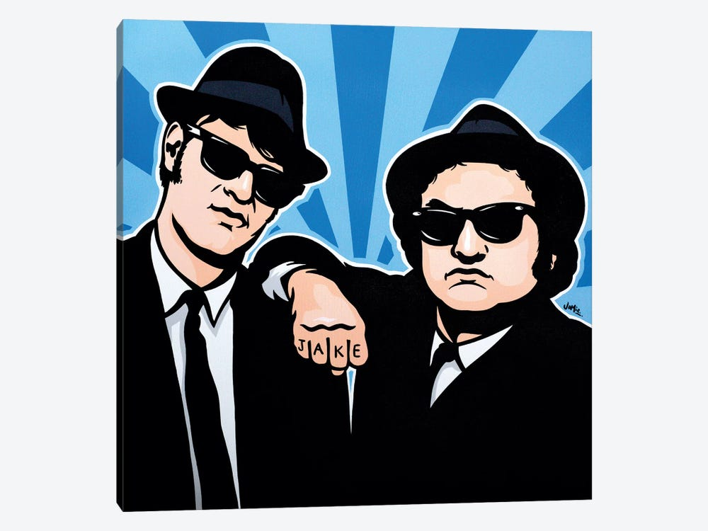 The Blues Brothers by James Lee 1-piece Art Print