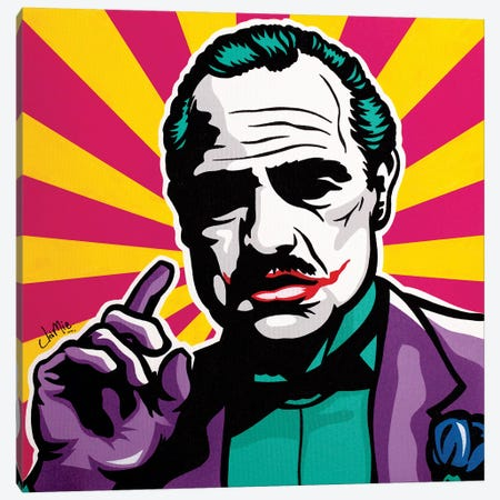The Jokefather Canvas Print #JLE35} by James Lee Canvas Print